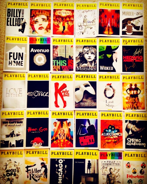 a few of the shows I've seen